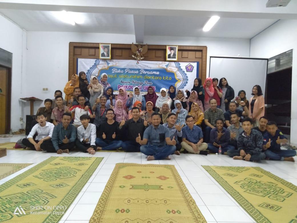 Buka Puasa Bersama Keluarga Besar Fakultas Psikologi UP45