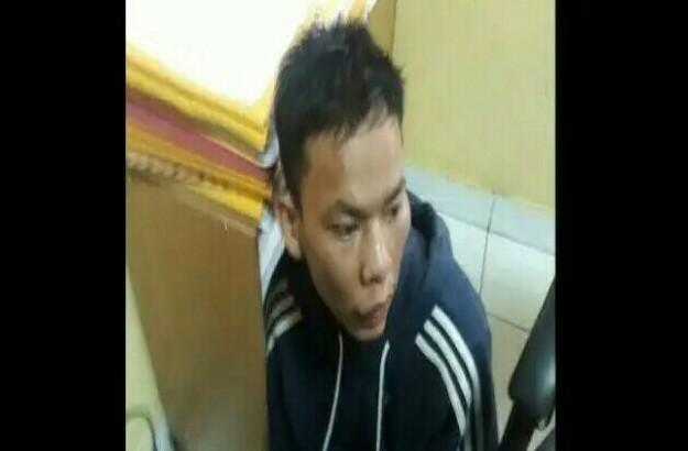 Diduga Orang Ini Pelaku Penyiram Bensin yang Sebabkan Polisi Terbakar di Cianjur