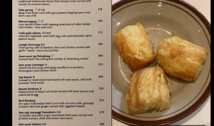 Viral! Story Dari Suami Rachel Vennya Mengunggah Daftar Harga Menu di Sebuah Restoran, Salah Satunya Singkong Mewah