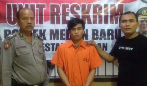 Kronologi Kejadian Pencurian 2 Unit HP di Medan HinggaSyukur Giawa Ditangkap Polisi