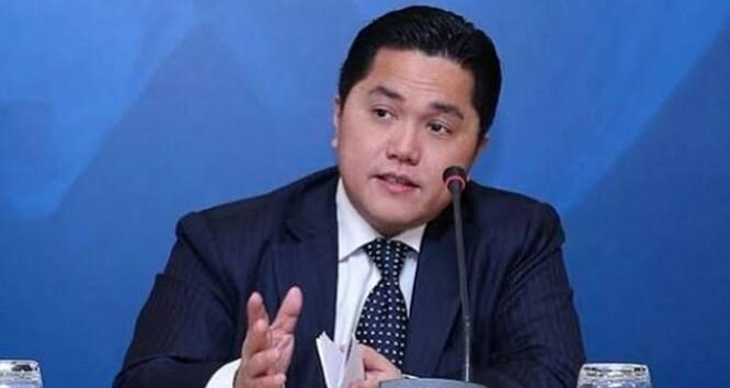 Tok! Erick Thohir Copot Seluruh Sesmen dan Deputi di Kementerian BUMN