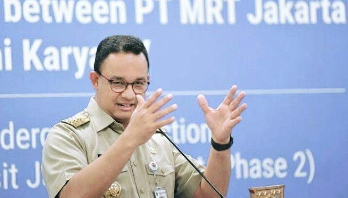 Darurat COVID-19, Anies Baswedan Keluarkan Seruan Gubernur Nomor 7