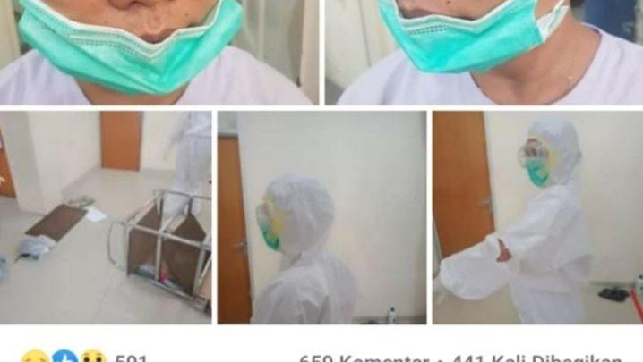 Viral! Seorang Tenaga Medis Diduga Menjadi Korban Aniaya dari Keluarga Jenazah Pasien COVID-19
