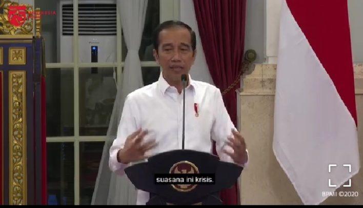 Marahi Para Menteri, Jokowi: Krisis Tapi Dianggap Biasa, Saya Jengkel!