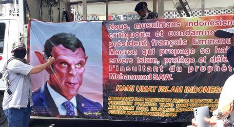Geruduk Kedubes Prancis, Habib Rizieq: Saya Serukan Aksi 211 untuk Membela Nabi