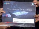 Santunan dari Jasa Raharja untuk korban Sriwijaya Air SJ-182. (Sumber: Antara).
