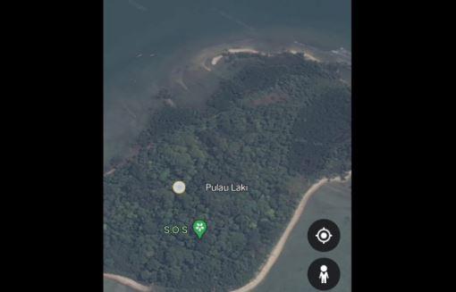 Muncul Tanda 'SOS' di Google Earth Pulau Laki Dekat Jatuhnya SJ-182, Netizen: Semoga Ada Keajaiban