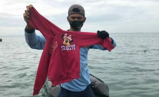 Jaketnya ditemukan dalam Kondisi Utuh, Netizen Doakan Yumna, Seorang Gadis Cilik Penumpang Sriwijaya Air SJ-182
