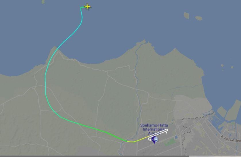 Pesawat Sriwijaya Air SJ182 Meledak dan Jatuh, BMKG Analisis Kondisi Cuaca