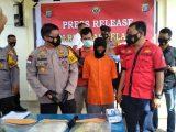 Pengungkapan kasus pembunuhan di Nias Selatan, Sumatera Utara (Sumut). (Sumber: LIPUTAN6).