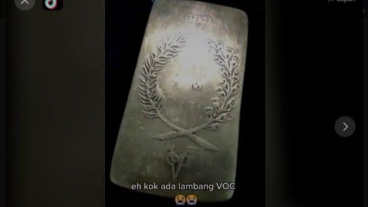 Seorang Pria Temukan Emas Batangan Berlogo VOC, Bikin Geger, Ternyata Begini Penampakannya