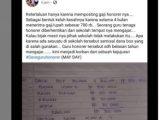 Guru honorer diberhentikan gegara mengunggah gaji di Facebook. (Sumber: Instagram/@berita_gosip).
