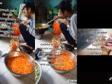 Viral 60 pesanan nasi kotak dibatalkan. (Sumber: TikTok/Kolase NESIATIMES.COM).