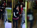 Tangkapan layar video pemukulan wanita di Bandung. (Sumber: Instagram/@beritakotabandung).