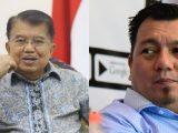 Tenaga ahli KSP Ade Irfan Pulungan memberikan penilaian pada pernyataan Jusuf Kalla (JK). (Sumber: Kolase NESIATIMES.COM/detiknews).