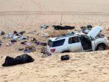Tersesat di Gurun Libya, satu keluarga asal Sudan tewas kelaparan di dalam mobil. (Sumber: Al Araby).