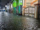 Banjir di Perumahan Rawalumbu Bekasi (20/2/2021). (Sumber: detiknews).