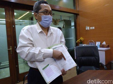 GM Penerbit Tiga Serangkai, Mas Admuawan. (Sumber: detikcom).