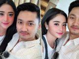 Dewi Perssik dan Angga Wijaya. (Sumber: Tribunnews.com).