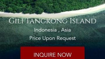 Pulau di Lombok NTB Dijual di Situs Online, Yusron Hadi Angkat Bicara