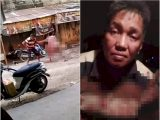 Pelaku penikaman terhadap seorang pria yang diduga selingkuhan istrinya (Sumber: Istimewa).