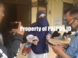 SA saat membuat laporan di Polres Ogan Ilir. (Sumber: Palpos.id).