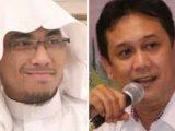 Ustadz Maaher At-Thuwailibi (Instagram @ustadzmaaher_real) dan Denny Siregar (istimewa). Denny Siregar mendoakan almarhum Ustadz Maaher At-Thuwailibi. (Sumber: Tribunnews).