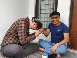 Abu Janda sambangi Ketua Umum Pimpinan Pusat Pemuda Muhammadiyah Cak Nanto. (Sumber: PP Muhammadiyah).