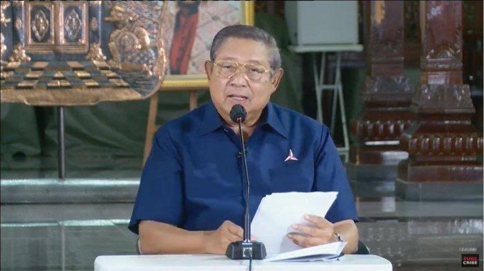 Tanggapi KLB PD, SBY: Partai Demokrat Berkabung, Akal Sehat Telah Mati