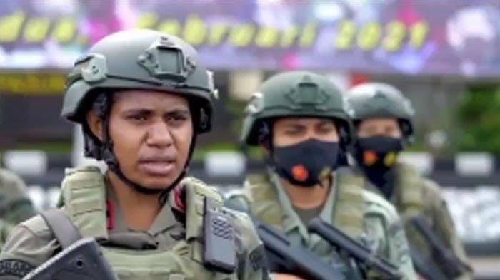 Mengenal Ipda Listra Kogoya, Sosok Wanita Tangguh, Anggota Brimob yang Dikirim Operasi di Papua