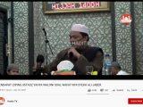 Ustaz Yahya Waloni. (Sumber: YouTube/Hadits TV).