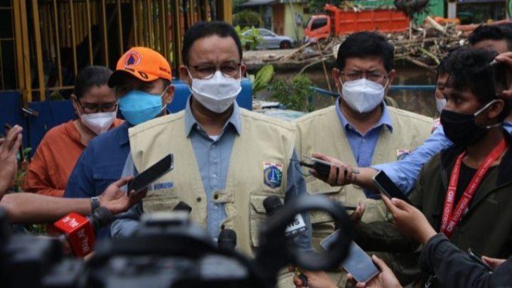 Ucap Syukur Anies Baswedan, Banjir Jakarta 100% Surut Sejak Senin Dini Hari