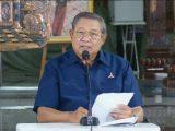 Ketua Majelis Tinggi Partai Demokrat, Susilo Bambang Yudhoyono (SBY) buka suara atas Kongres Luar Biasa (KLB) Partai Demokrat yang diselenggarakan di Deliserdang, Sumatera Utara, Jumat (5/3/2021). (Sumber: Tribunnews.com).