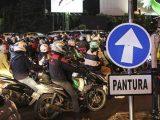 Kendaraan dari luar Jateng bakal tidak diizinkan masuk wilayah Jawa Tengah saat mudik Lebaran nanti. (Sumber: Merdeka.com)