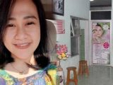 Perawat cantik dibakar hidup-hidup, Senin (3/5/2021). Foto kanan : TKP. (Sumber: Tribunnews.com).