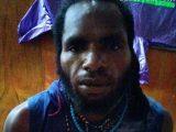 Sosok LW, anggota KKB yang diamankan Satgas Nemangkawi. (Sumber: detikcom).