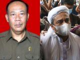 Ketua Majelis Hakim Khadwanto SH yang memvonis Habib Rizieq Shihab empat tahun penjara terkait perkara hasil tes swab di RS Ummi Bogor (Sumber: Kolase NESIATIMES.COM).