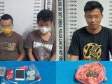 Para tersangka kasus narkoba di Siantar. (Sumber: METRO24jam.com).