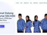 Halaman website SSCASN. Dalam artikel mengulas tentang CPNS dan PPPK 2021, mulai dari jadwal pendaftaran seleksi hingga daftar formasi terbanyak d instansi pusat maupun Kabupaten. (Sumber: sscasn.bkn.go.id).