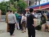 Tenaga kerja asing atau TKA China ditolak vaksin COVID-19 di Polres Lebak datang dari Tangerang, Jakarta dan Serang (Sumber: suarabanten.id).
