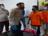 Para tersangka dimintai keterangan Polsekta Sukarami (Sumber: jpnn.com).