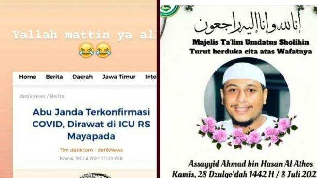 Bikin Merinding! Habib Mada Meninggal Dunia Usai Doakan Abu Janda Mati