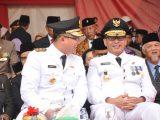 Gubernur dan Wakil Gubernur Banten, Wahidin Halim dan Andika Hazrumy. (Sumber: Istimewa).