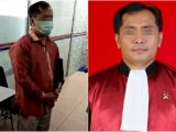 Hakim SZ yang digerebek selingkuh dengan wanita simpanan di Rantauprapat (Sumber: INDOZONE).