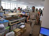 Anies Baswedan sidak kantor di Jakarta yang terapkan WFO (Sumber: Instagram).
