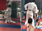 Anak laki-laki usia 7 tahun dinyatakan koma setelah dibanting berkali-kali saat latihan judo (Sumber: Tribun-Medan.com).