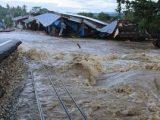 Ilustrasi banjir bandang. (Sumber: ANTARA FOTO/Jojon).
