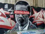 Mural Jokowi '404: Not Found' (Sumber: Polres Tangerang).