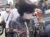 Anak Akidi Tio, Heryanty saat tiba di Mapolda Sumsel. (Sumber: Istimewa)