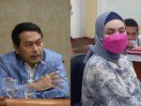 Anggota DPR RI Rudi Bangun dan Siska Sari W Maulidhina (Sumber: Kolase NESIATIMES.COM).